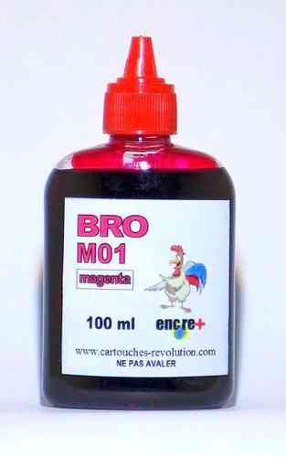Recharge encre magenta M01 BROTHER - 100 ml