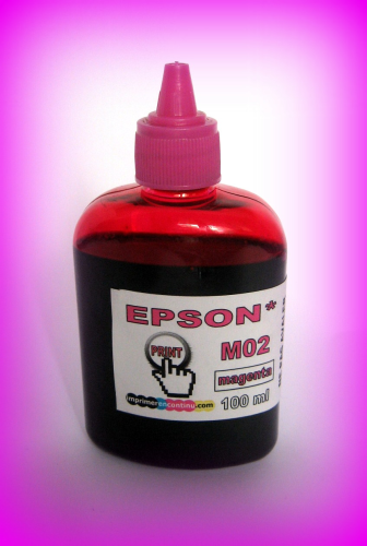 Recharge encre magenta M02 EPSON - 100 ml
