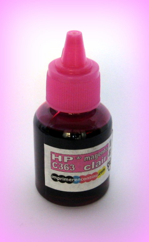 Recharge encre photo-magenta PM363 HP - 30 ml