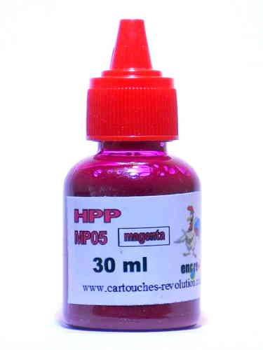 Recharge encre magenta MP05 HP - 30 ml